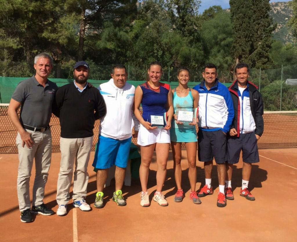 Runner-Up ITF $10.000 Santa Margherita di Pula. vs. Corinna Dentoni (ITA)